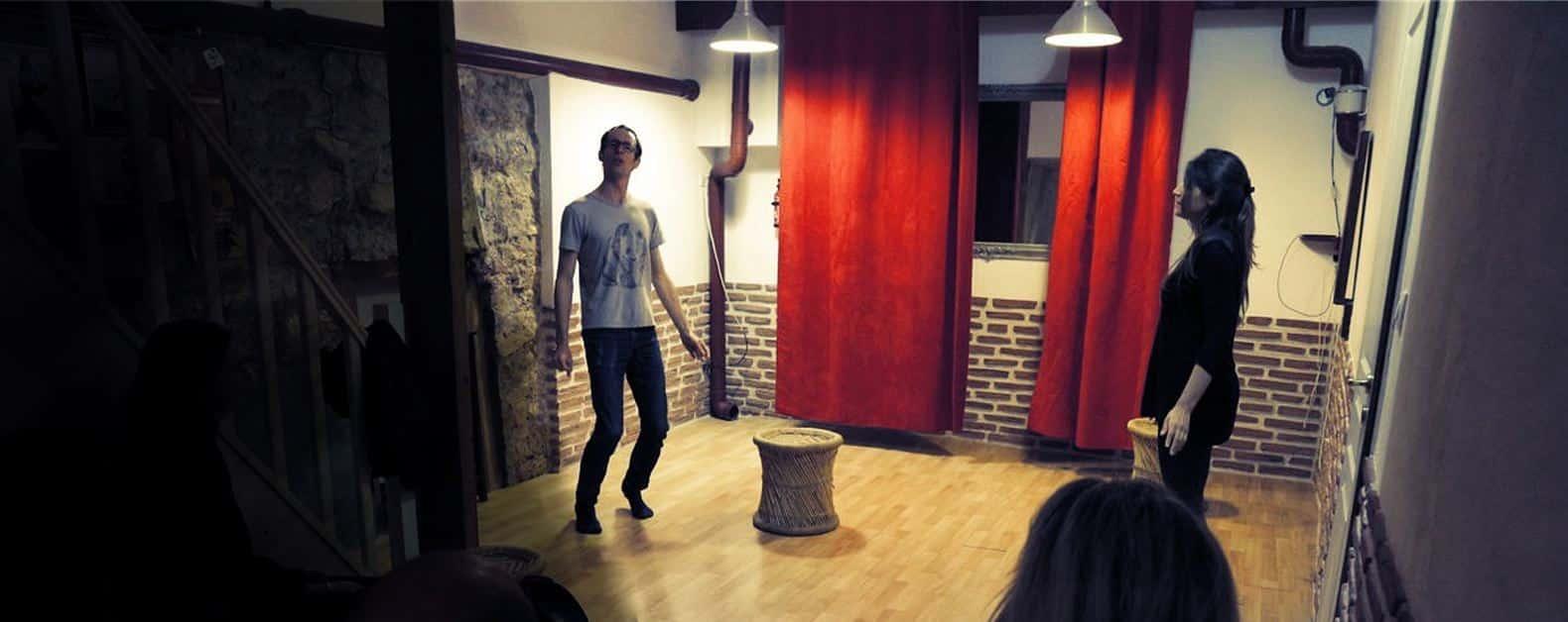cours de theatre paris acteur comédien actrice cinéma atelier stage formation école prof adulte enfant Éveil de l'Acteur